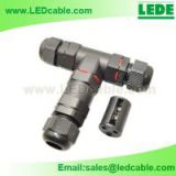 IP68 Waterproof Electrical Circular Cable Butt Splice T Connector