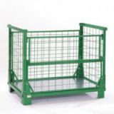 HEAVY DUTY METAL STOCK STORAGE CAGE  STORAGE BOX STORAGE CONTAINER(FOR market or warehouse) manufacturer direct sales  high qulity and low cost