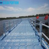 Floating dock floating pontoon floating bridge floating platform for sales