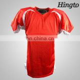 New design wholesale customized double sided football jersey