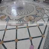 Natural stone marble mosaic medallion