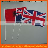 hot sell custom hand flag supplies