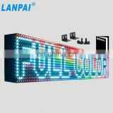 Hot sale full color video display customized size p10 led display