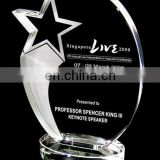 New products 2017 corporate wholesale star trophy crystal award acrylic trophy