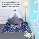 Outdoor waterproof children kids play tent indoor canvas indian teepee for children