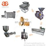 Continuous Automatic Groundnut Almond Pepper Paste Walnut Grinding Filling Machine Peanut Butter Production Line