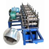 Stainless Steel Handrail Tube Roll Forming Machine, Special Shape Steel Pipe Making Machine