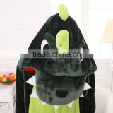 2015 Walsonstyles Cheapest Winter animal Onesie pajamas jumpsuit flannel adult green dinasour pajama