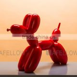 New design colorful fiberglass dog mannequin