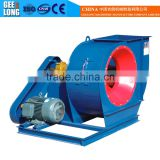 Induced fan blower for veneer dryer machine with hot air stove