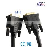 GOOD COMPATIBILITY PCER 24+1 MALE TO MALE DVI CABLE FOR COMPUTER/TV                                                                         Quality Choice