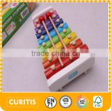 2016 Hot Sale Children Musical Instruments 8 Tones Xylophone Wood Musical Instruments