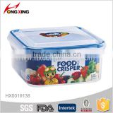 PP material food container with locking lid microwave freezer use                                                                                                         Supplier's Choice