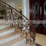 stainless steel wire staircase railing prices balcony stainless steel railing GYD-15H0350