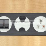 Best Price Wall Mounted RJ11 Power Socket Outlet with HDMI