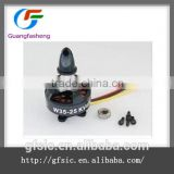 3525 650KV 850kv multiple rotor brushless motor / suited for 450 stage 3S-4S dynamic balancing