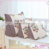Hot sell multiuse right triangle cotton pillow