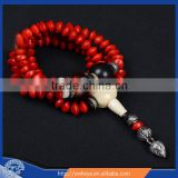 10mm jequirity Bodhi Seed Mala 108 beads japa mala for Meditation