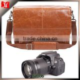 Handmade Genuine Leather Satchel Messenger Bag Camera Case Bag computer cases accessories