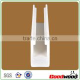 White Painted Pvc Window Shutter Parts