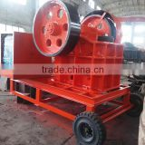 Diesel Engine PE400 600 Mobile Jaw Crusher Price