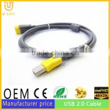 waterproof resistant round usb2.0 extension cable length could be 20M USB extension cable 10M