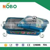 colorful decal design hot food warmer buffet server