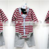 "100% Cotton Boutique Newborn Infant Clothing Set Baby Boy Clothing Patterns ""11"""