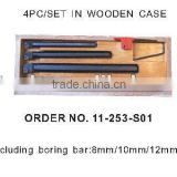 METRIC INDEXABLE BORING BAR SET