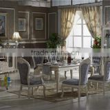 home furniture / glass wine cabinet / bigger solid wood sideboard / rectangle dining table with 6 dining chairs CZ101
