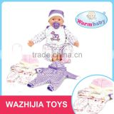 Alibaba new arrival hot sale baby angel doll with five sounds IC and clothes