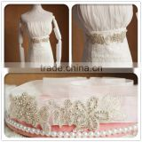 Wedding accessories rhinestone bridal sash and belt