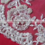 Bridal Beaded Lace Fabric