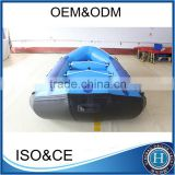 10cm Drop stitch air deck inflatable raft fishing boat made in china