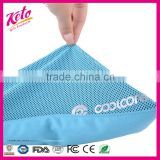 Custom double layer breathable sport instant cooling towel                                                                                                         Supplier's Choice