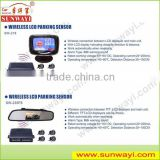 Wholesale price for universal car reverse camera car wireless video camera parking sensor