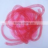 HOT SALE 10mm Pink / Fushia Nylon Mesh Tubing Net Ribbon for Valentines Gift Packaging Decoration