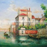 Factory Decorative Modern Wall Art Handmade landscape oil painting