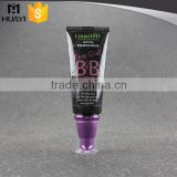 black color hot selling soft empty bb cream tube