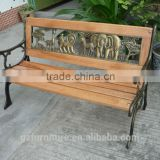 Wooden Slat Garden Benches Cast Iron Legs
