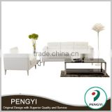 Malaysia design white office leather interior sofa/italian leather sofas white/leather sofa white curved