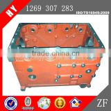 Top quality gearbox housing bus transmission housing gearbox housing cast iron gearbox housing for Sunwin (1268301024)