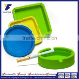 bpa free cheap plastic ashtray disposable pocket ashtray
