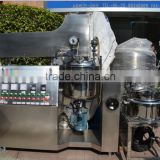 lab high shear homogenizer mixer for paint /electric heating mixing tank /facial cleaner agitator tank