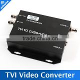 720P/1080P Analog High Definition TVI Camera connector to HDMI/VGA/CVBS Signal Support 250MA Output HD TVI Video Converter