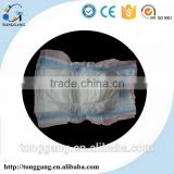 Printed cartoon cloth Economic baby diapers in bales