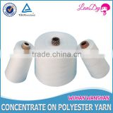 wholesale, high tenacity,100% spun optical white spolyester sewing thread 12/2 with paper bobbin