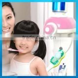 Newest ABS Plastic automat toothpast dispen for kids