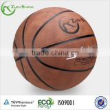 Zhensheng pu leather laminated basketball ball