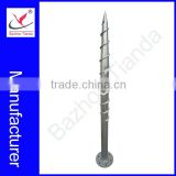 The most popular and hot-sale professional factory made ground screw for solar mounting system